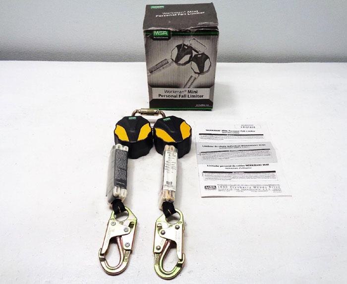 MSA Workman Mini PFL Personal Fall Limiter, 6ft, 10157858