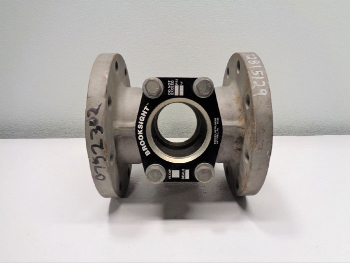 "Brooks Brooksight 4"" 150# RF Flanged Sight Glass Valve, CF8M"