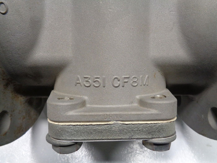 "Brooks Brooksight 4"" 150# RF Flanged Sight Glass Valve, CF8M"