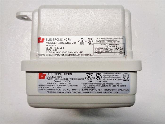 Federal Signal 450EWBX Electronic Horn for Hazardous Locations 450EWBX-024