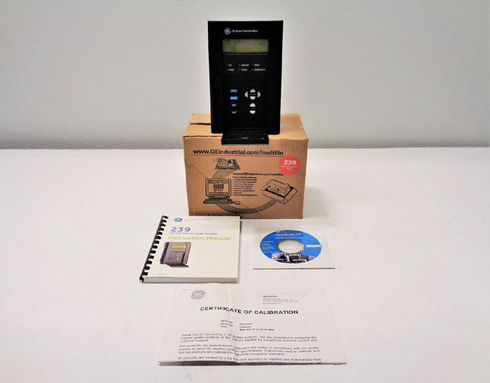 GE Multilin 239-RTD Motor Protection Relay