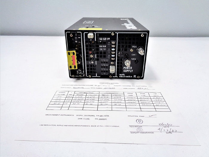 Emerson ACDC Electronics 800 Watt Power Supply RE804B-2446-9006