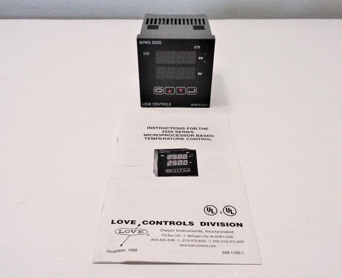 Love Controls 25013 Microprocessor Temperature Controller