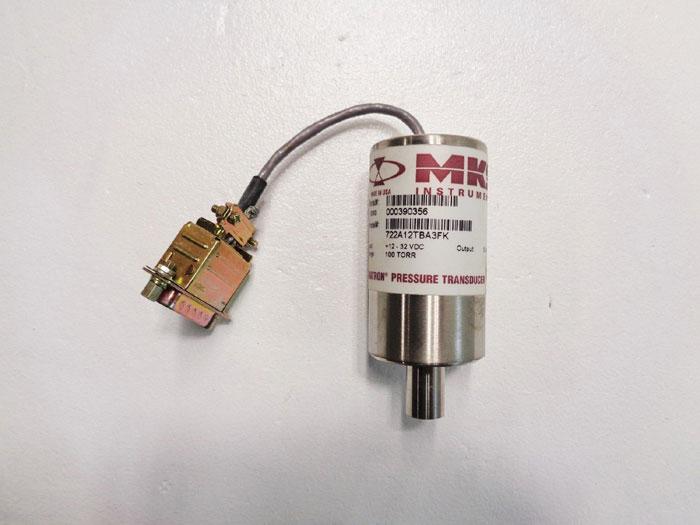 MKS Baratron Pressure Transducer 722A12TBA3FK