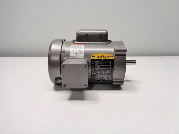 Baldor Reliance Motor, 1/4 HP, 115/230V, 1725RPM, 1PH, KL3403, 34C63-5506