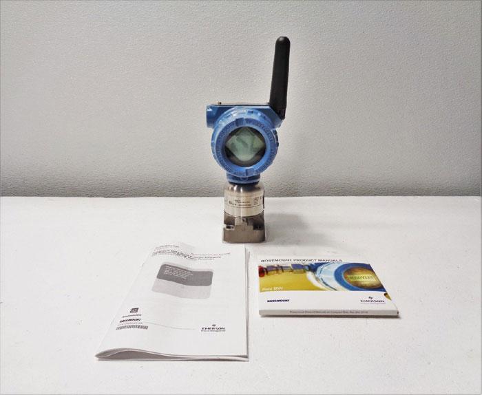 Rosemount 0 - 250 in H2O Pressure Transmitter 3051S1CD2A2000X5AWA3I1M5WK1