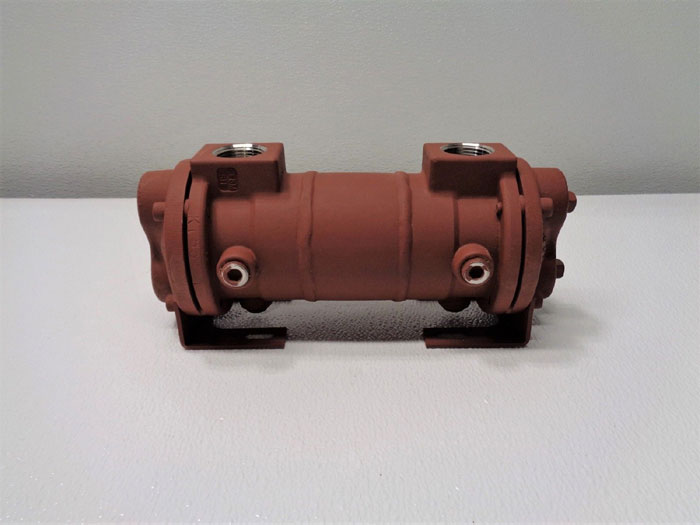 API Basco Hub Type Shell and Tube Heat Exchanger, Size 03-008, 1554-03-008-040