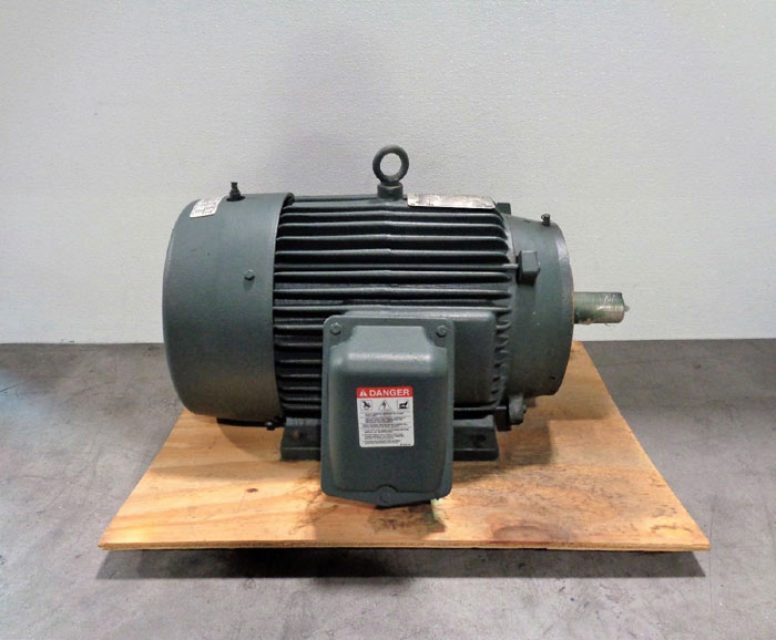 Toshiba 20HP Premium Efficiency EQP III XS 3-Phase Induction Motor B0204FLT3BMHD