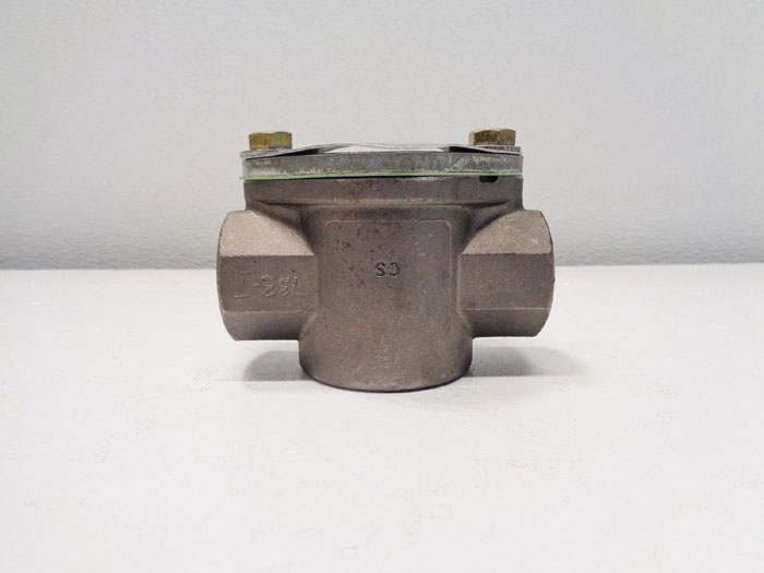 "John C. Ernst 3/4"" NPT Sight Flow Indicator, 200PSI, Carbon Steel, #021"