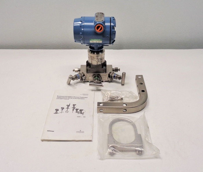 Rosemount Pressure Transmitter 3051S2CD2A2A11A1AE5M5 with 0-250 in H2O