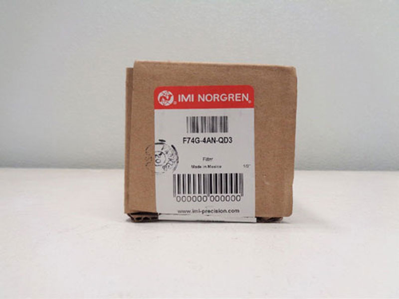 LOT OF (2) IMI Norgren Excelon Filters F74G-4AN-QD3
