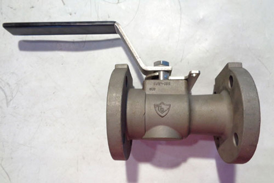 "TBV 1.5"" 150# Unibody RP Flanged  Ball Valve Monel 400 #15S20150M4M4TH0"