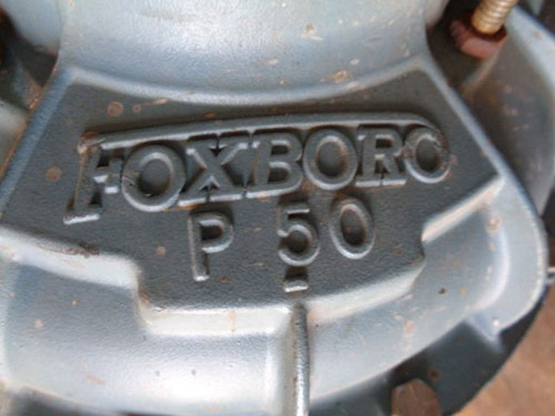 """FOXBORO P50 DIAPHRAGM CONTROL VALVE - 2"""""""