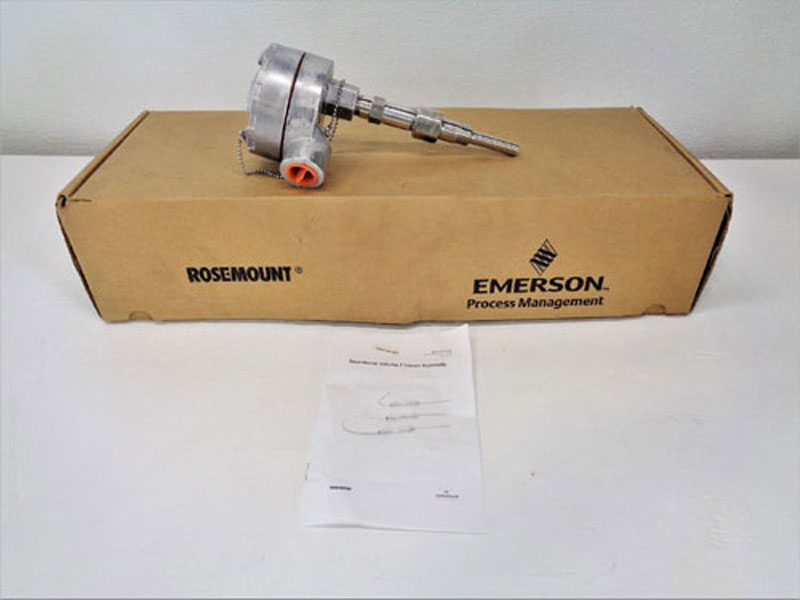 Rosemount 78R Volume 1 Sensor Assembly, Stainless 78R21N00A020T32 w/ Thermowell