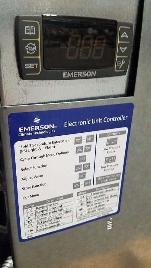 Copeland Condensing Unit FFAP-022Z-CFV-071 w/ Compressor ZS15KAE-PFV-118