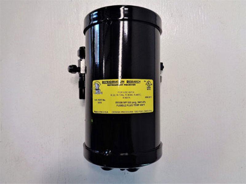 Lot of (3) Refrigeration Research Refrigerant Receiver 5315