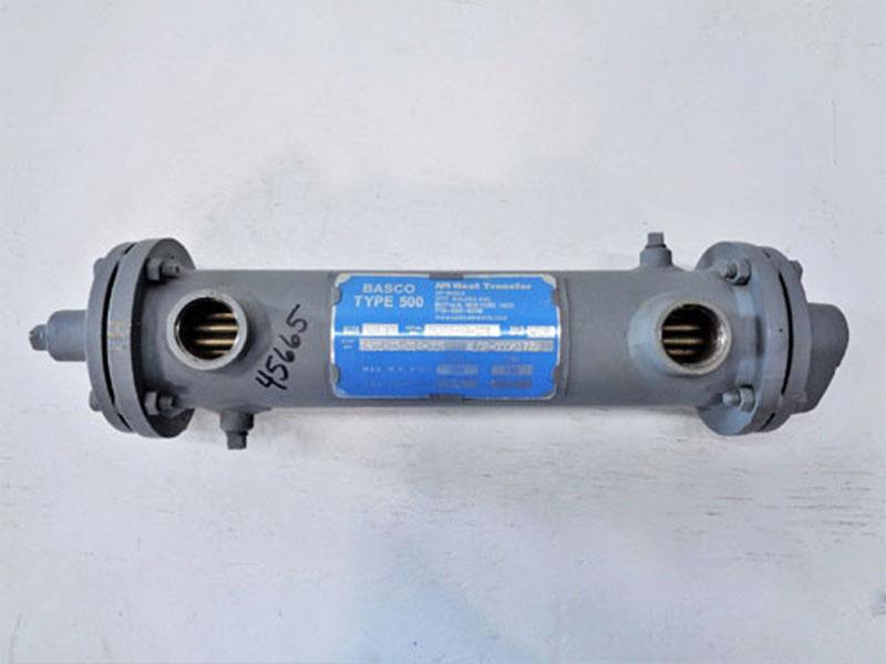 API BASCO Type 500 Heat Exchanger, Size 03014, #1501-03-014-005