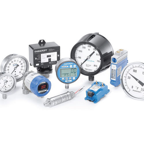 Gauges, Thermometers & Thermowells